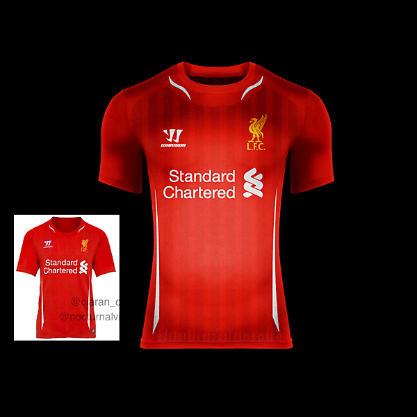 Liverpool F.C. Home 14/15 BASED ON LEAKED KIT