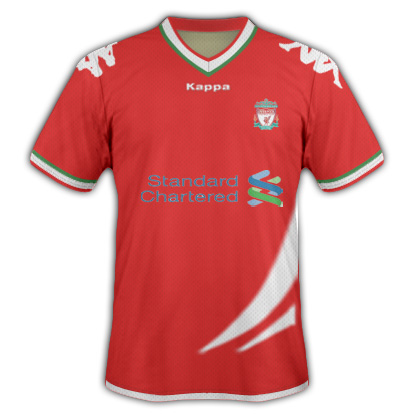 Liverpool Home Fantasy Kit (Kappa)
