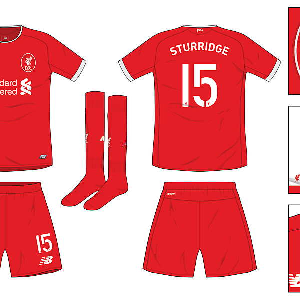 Liverpool Home 2016-17