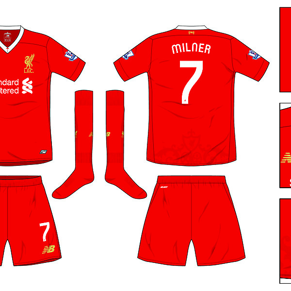 Liverpool Home kit 2016-17