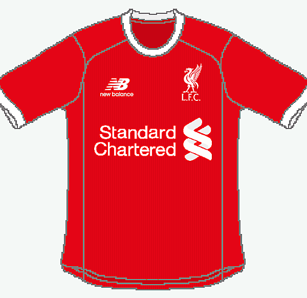 Liverpool New Balance Home
