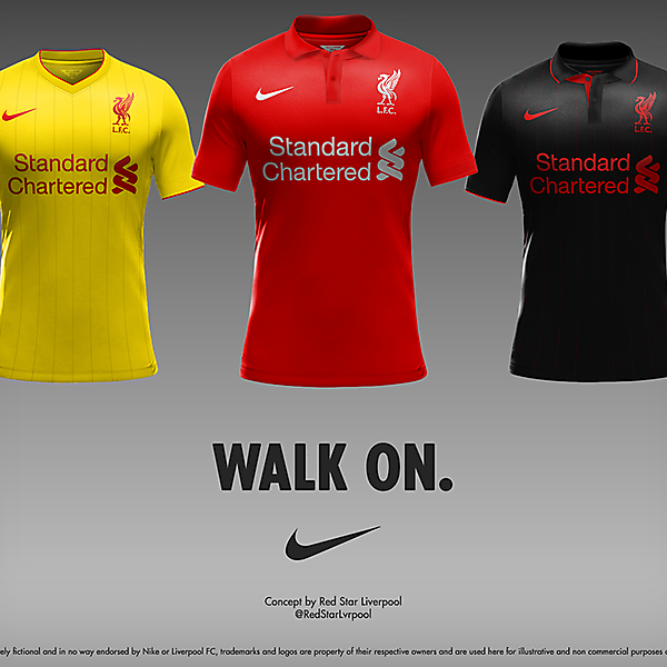 Liverpool Nike kits II