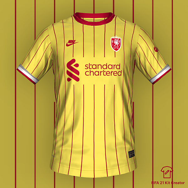 Liverpool Third Kit 2022