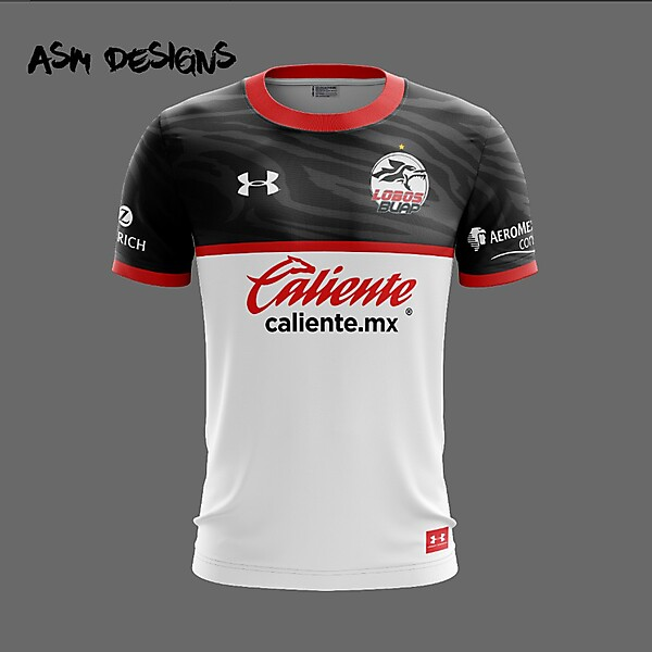 Lobos BUAP Under Armour 2018 Home Kit