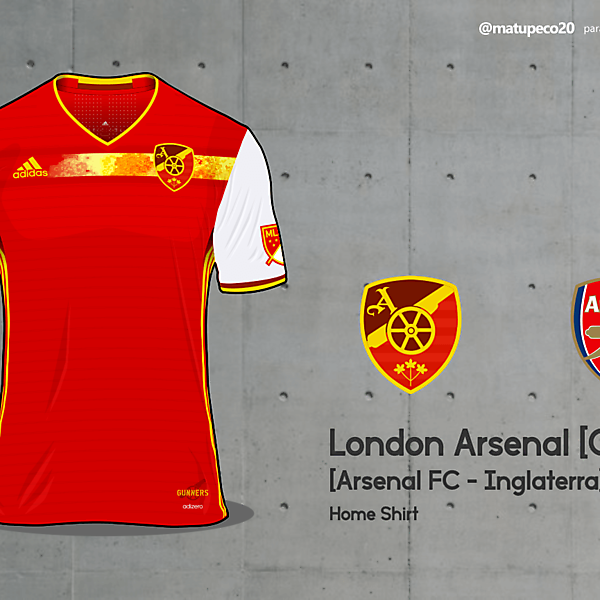 London Arsenal - MLS Foreign Invasion