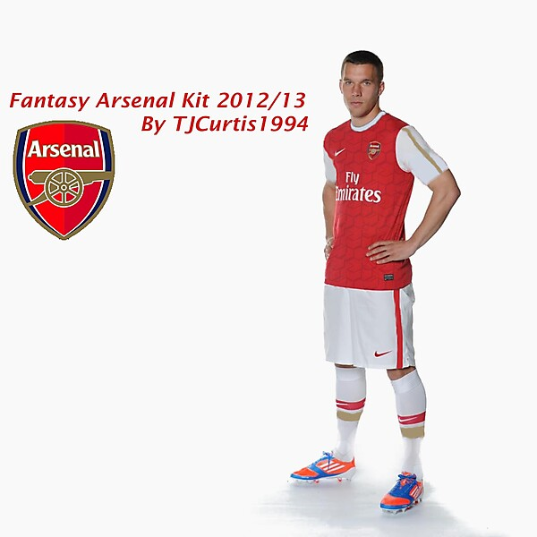 Arsenal Home kit 2012/13