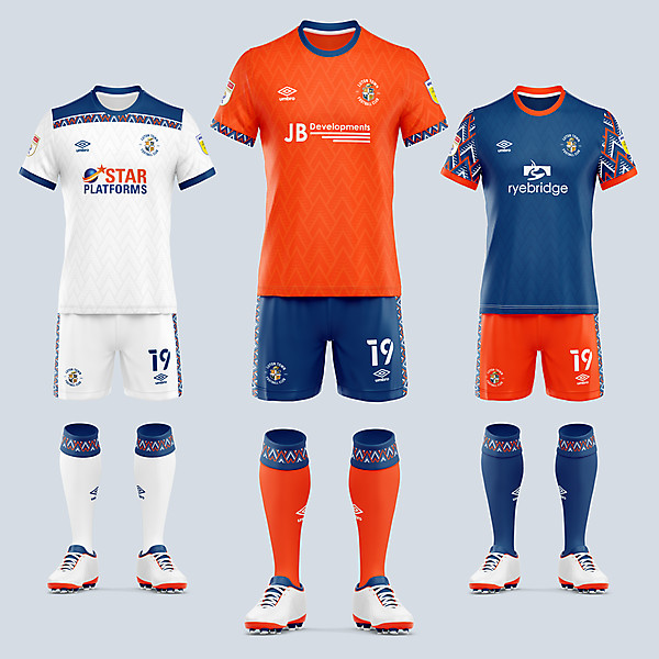 Luton Town 2021/22 Kit Concepts