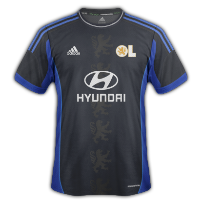Lyon kits for 2014