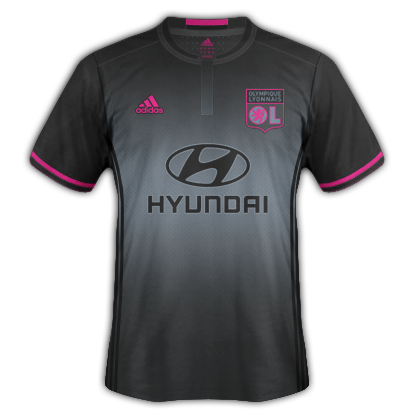Lyon Away Kit 2016/17