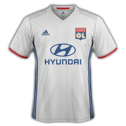 Lyon Home Kit 2016/17