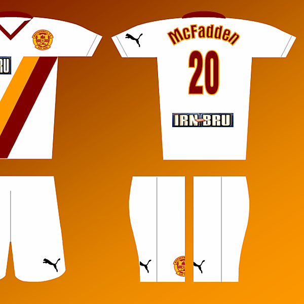 Puma Fantasy kit - Motherwell away