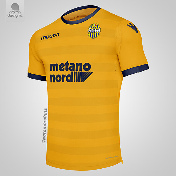 Macron Hellas Verona Away Kit Concept