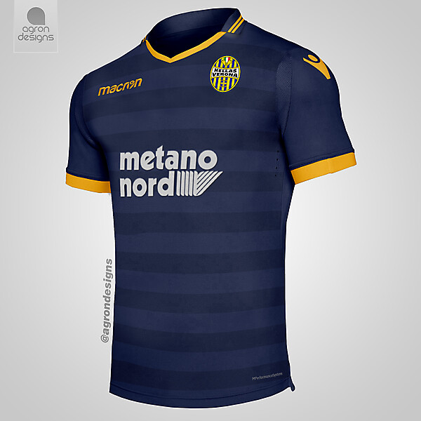 Macron Hellas Verona Home Kit Concept