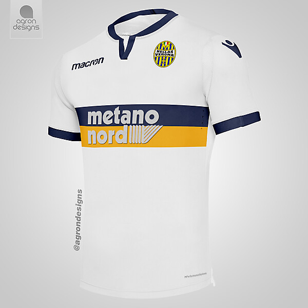 Macron Hellas Verona Third Kit Concept