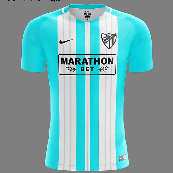 Málaga CF Nike 2018 Home Kit