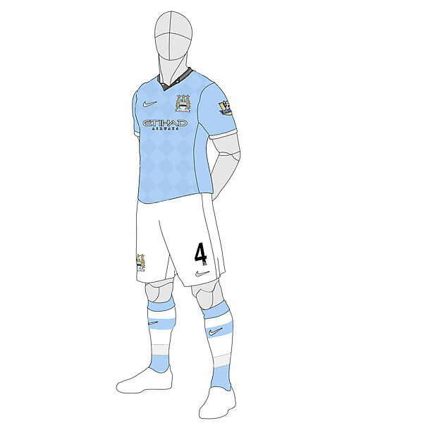 Man City Home 2013/14