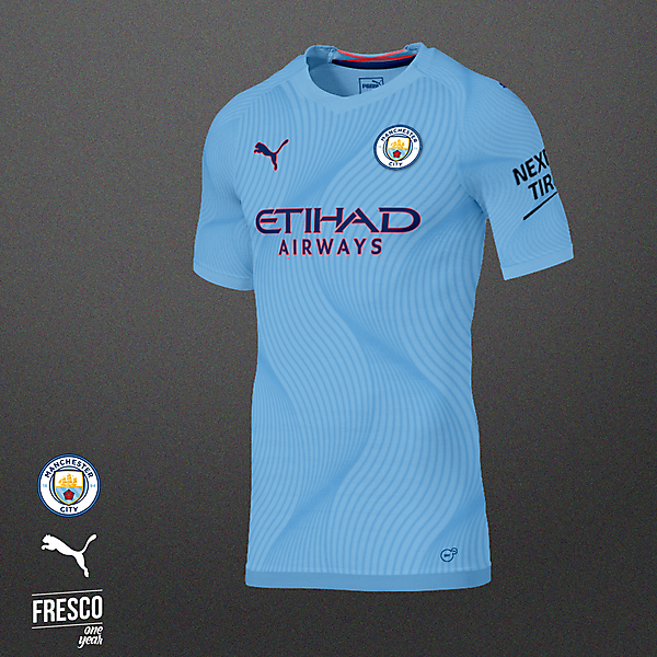 Man City Home Kit Concept