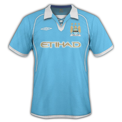 Manchester City Umbro Home