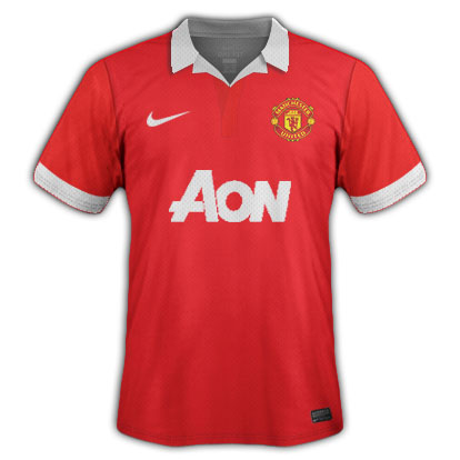 Man United w/ collar
