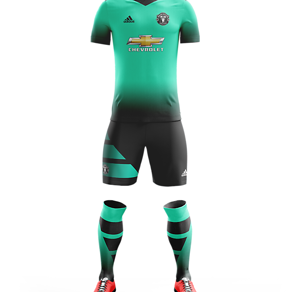 Man Utd 2016/17 Third Kit
