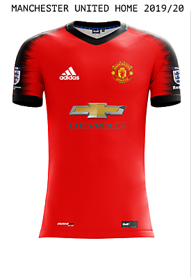 Man UTD Home Kit 2019/20