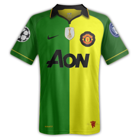 Manchester Utd (Third Kit) (Champions League Winners Special) (Fantasy)