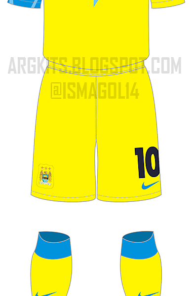 Manchester City - Fantasy 3rd Kit