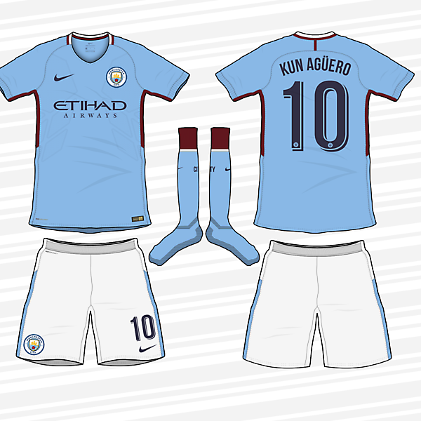 Manchester City 2017/2018 Home kit