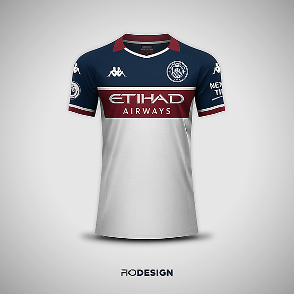 Manchester City | Kappa | Away | Inspired by 1997-98