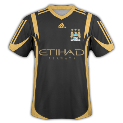 Manchester City Away Fantasy Kit (Adidas)