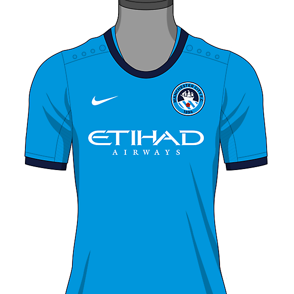 Manchester City FC Shirt Crest version