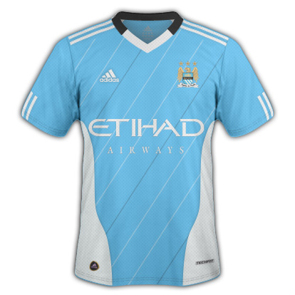 Manchester City Home Fantasy Kit (Adidas)