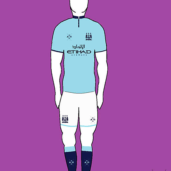 Manchester City Home kit by AG Sports Co.