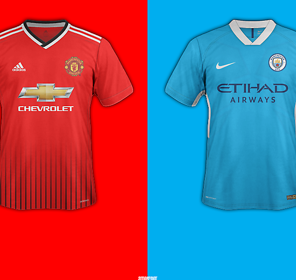 Manchester Derby Battle Kit