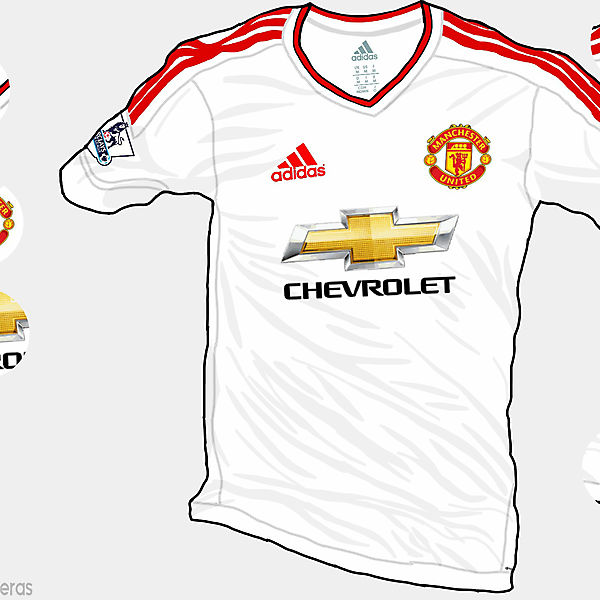 Manchester United 15-16 Away Shirt (Based on leaks)