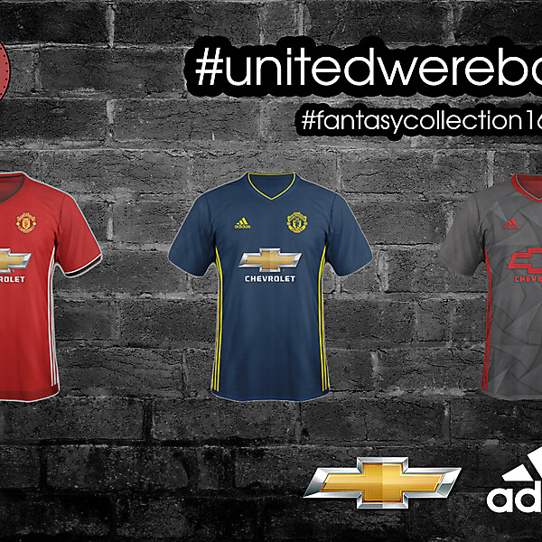 Manchester United Adidas Concept 2016/2017