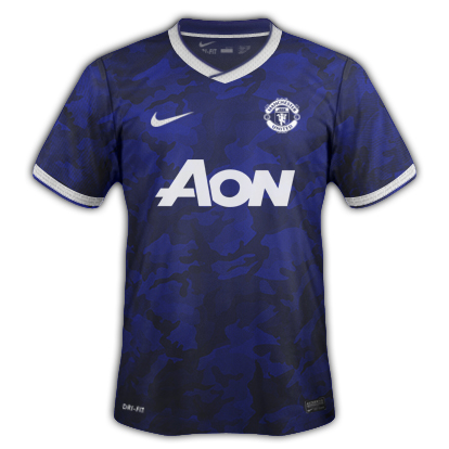 Manchester United Fantasy Away Kit 2014/2015 Masked Edition
