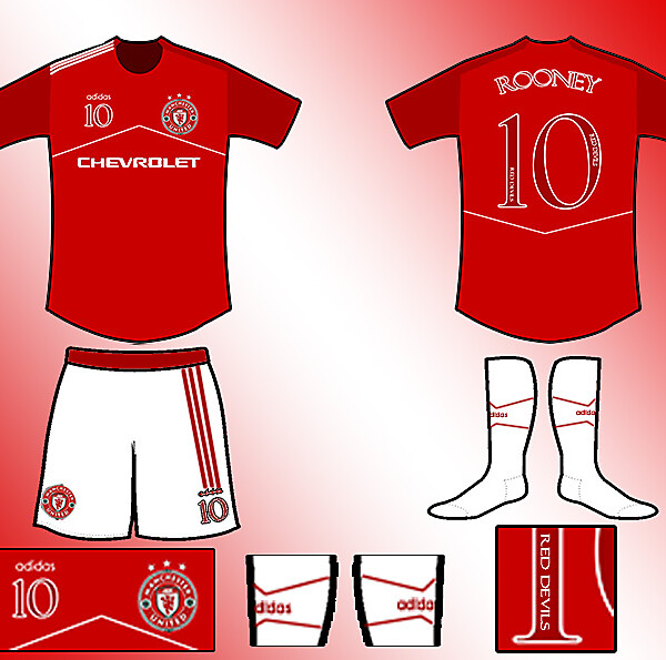 Manchester United Fantasy Home Kit
