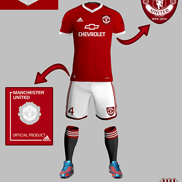 Manchester United Home 15-16