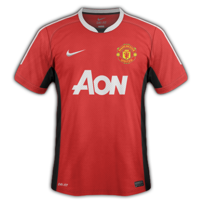 Manchester United fantasy kits with Nike