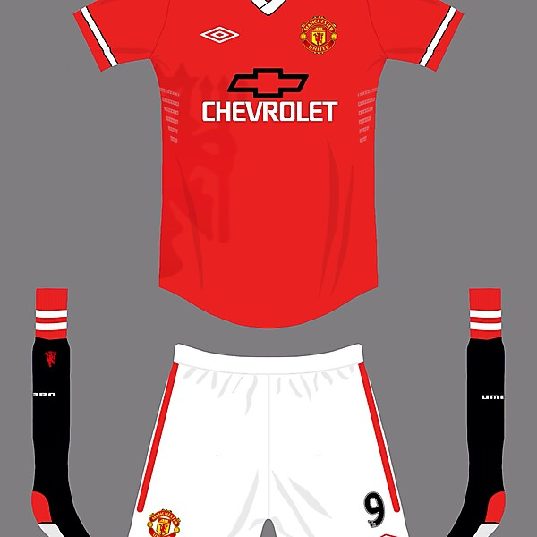 Manchester United home 2014/15 Umbro