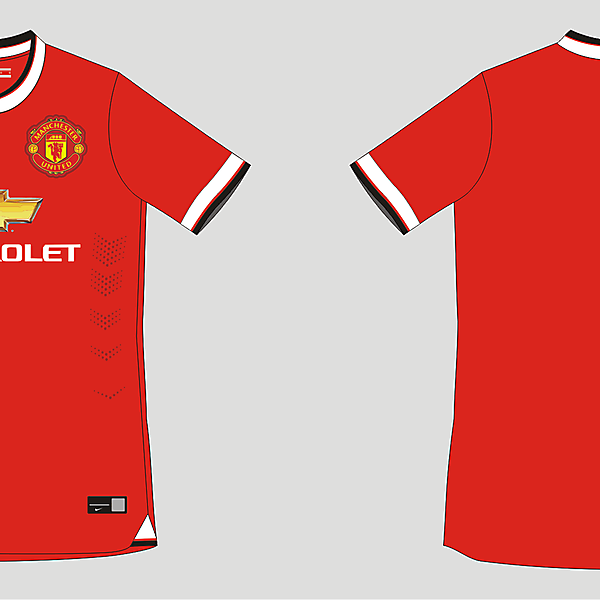 Manchester United Home Kit 2014/2015 Leaked info