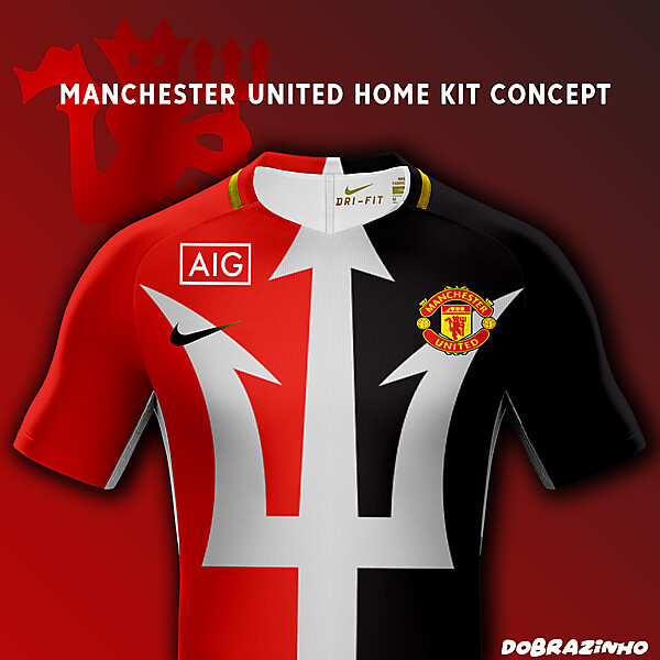 Manchester United Home Kit concept x Nike x AIG