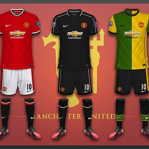 Manchester United Kits - Chevrolet