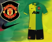 Manchester United Retro Away Kit