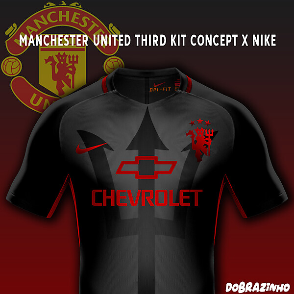 Manchester United Third Kit concept x Nike