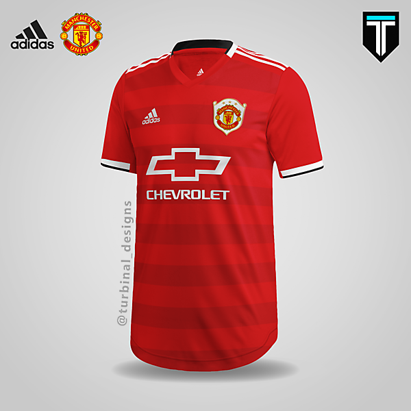 Manchester United x Adidas - Home Kit