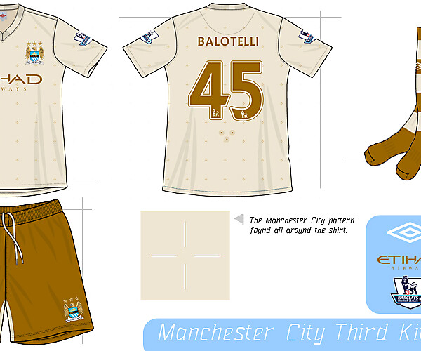 Manchester City Third Kit Concept