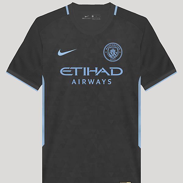 Man.City  17/18 Third Kit