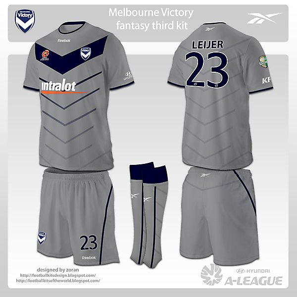 Melbourne Victory fantasy kits